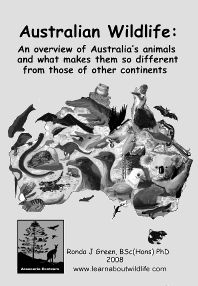 Australian WIldlife book